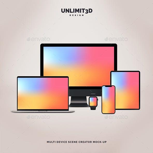 Multi Device Scene Creator Mock-Up