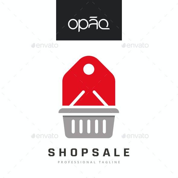 Shop Sale Deal Logo