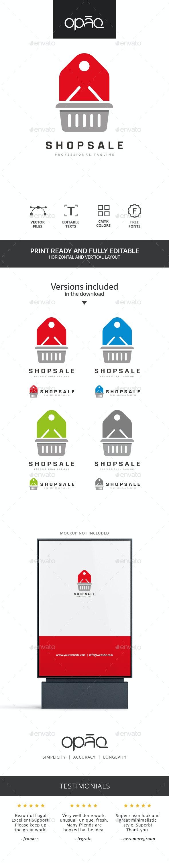 Shop Sale Deal Logo - Symbols Logo Templates