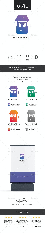Wish Well Logo - Objects Logo Templates