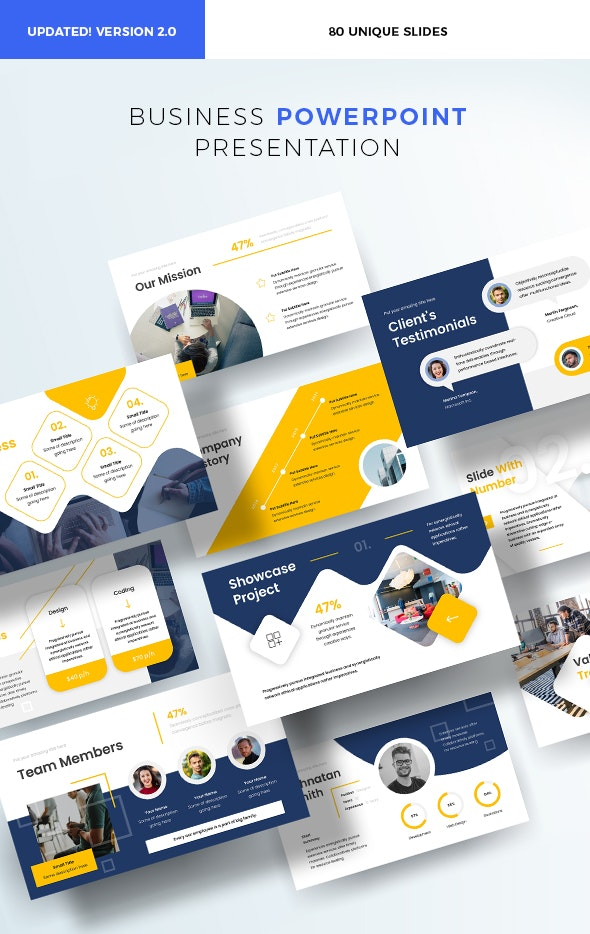 7 Best Presentation & Powerpoint Templates  for December 2020