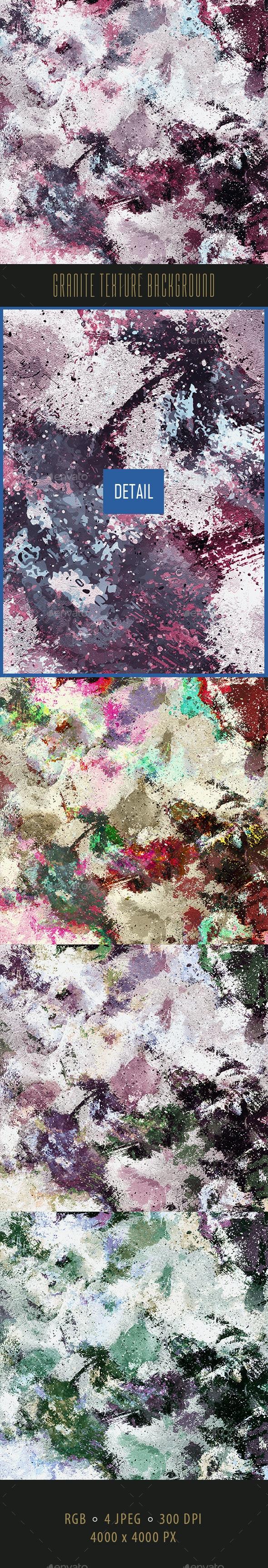 Granite Texture Background - Concrete Textures