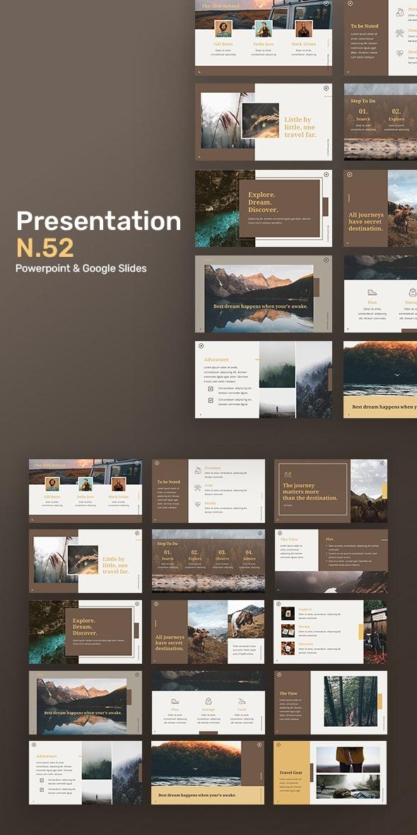 Presentation N52 - Creative PowerPoint Templates