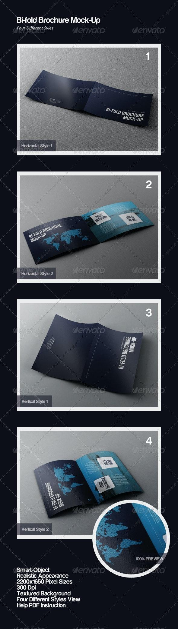 Bi-Fold Brochure Mock-Ups - Brochures Print