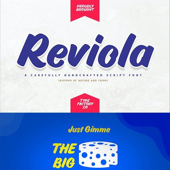Reviola – Bold Script