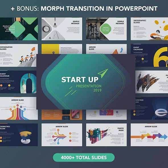 StartUp Powerpoint - Pitch Deck PowerPoint Templates