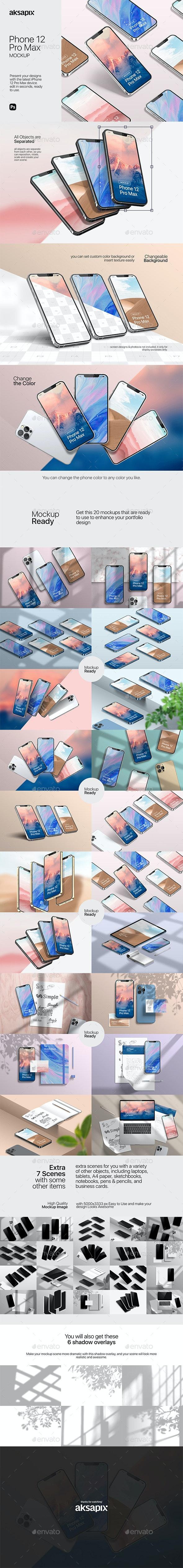 Phone 12 Mockup 2020 V.02