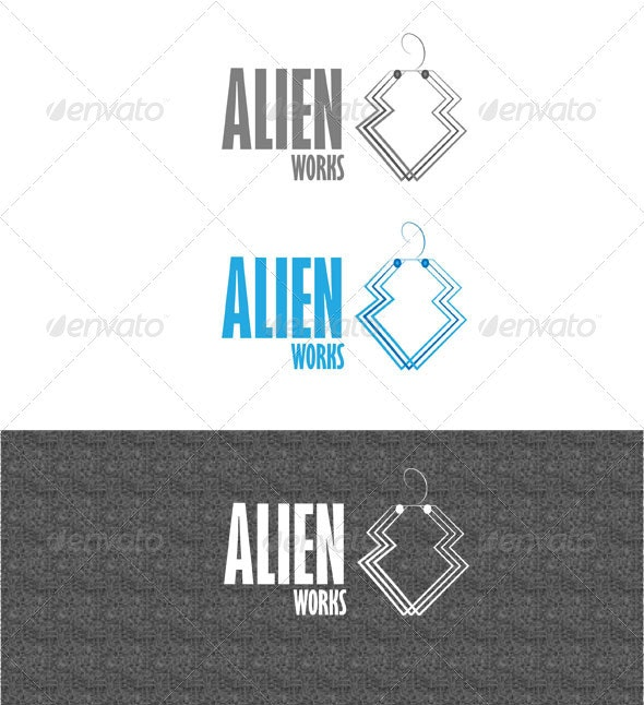 Alien Works - Abstract Logo Templates