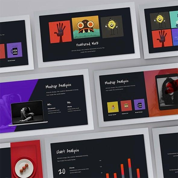 Firebird - Fully Animated Creative Presentation Template (KEY)
