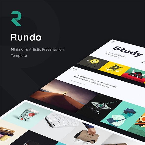 Rundo. Minimal & Creative Template (Keynote) - Creative Keynote Templates
