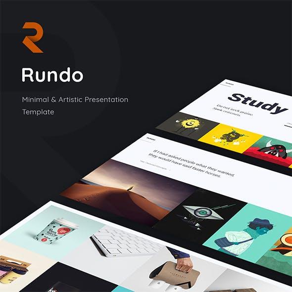 Rundo - Minimal & Animated Template (Powerpoint)