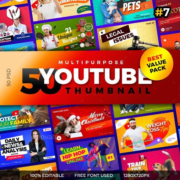 50 Youtube Thumbnail-V7
