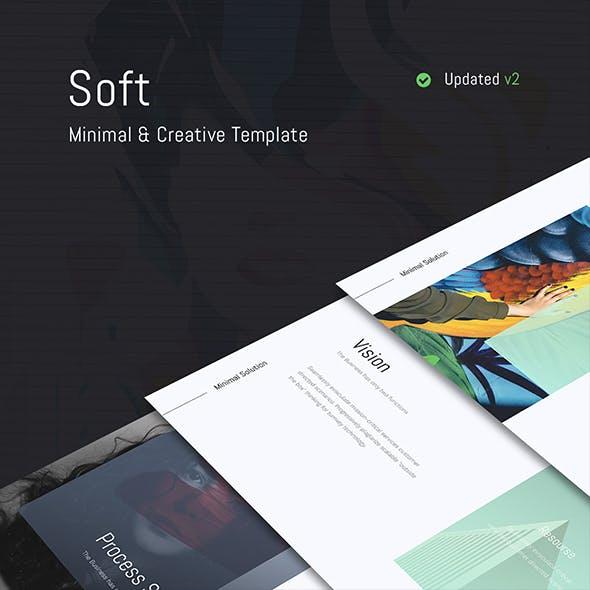 SOFT - Fully Animated & Minimal Template (Keynote)