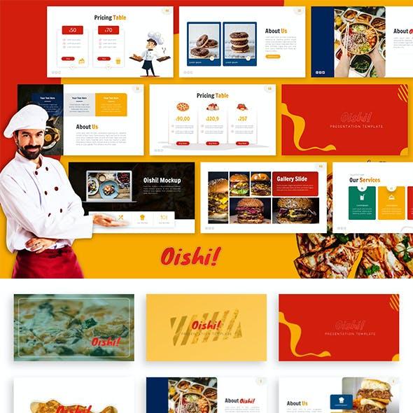 Oishi! Food Presentation