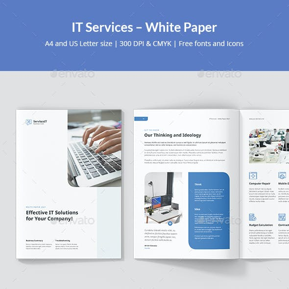 IT Services – White Paper