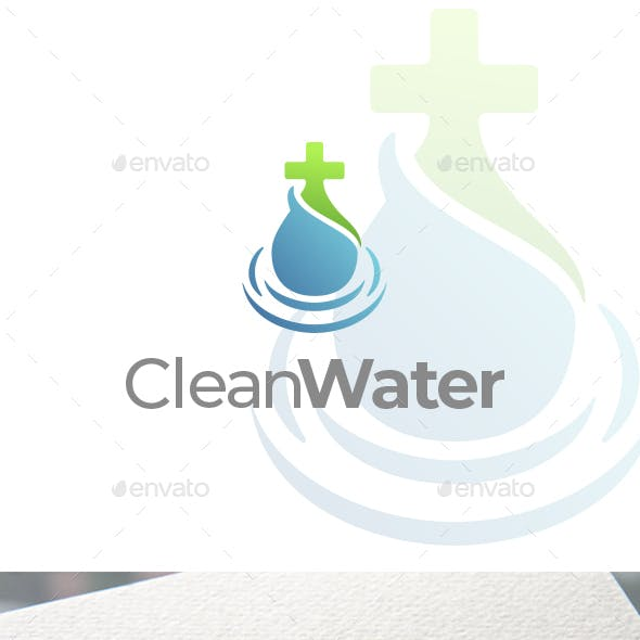 Clean Water Logo Design