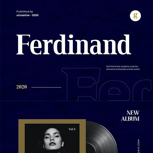 Ferdinand Serif Font