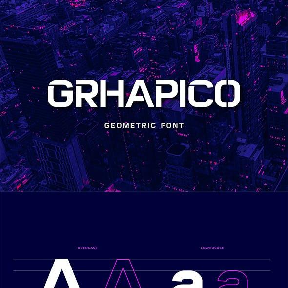 GRHAPICO Stencil Serif Font