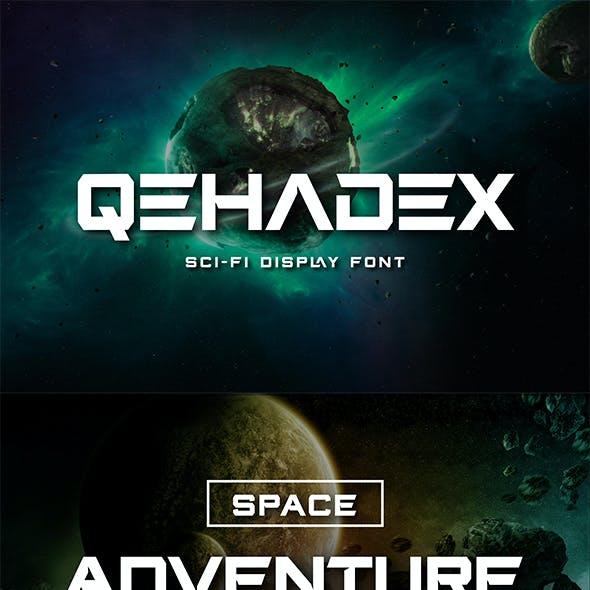 QEHADEX Futuristic Font