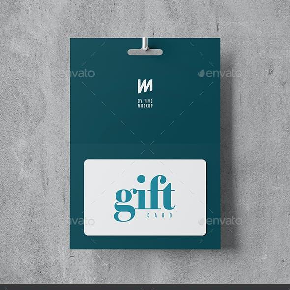 Gift Card Mock-up 2