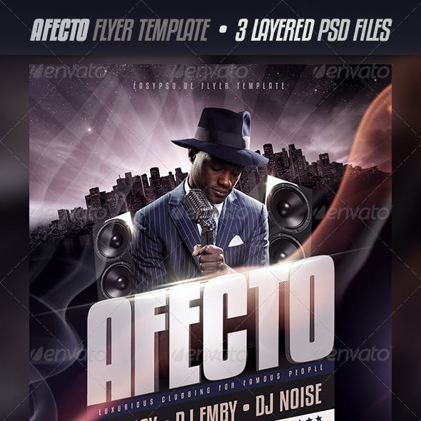 Afecto Flyer Template