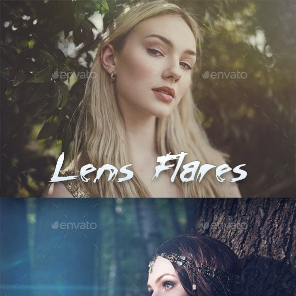 Lens Flares & Light Leaks - Overlays