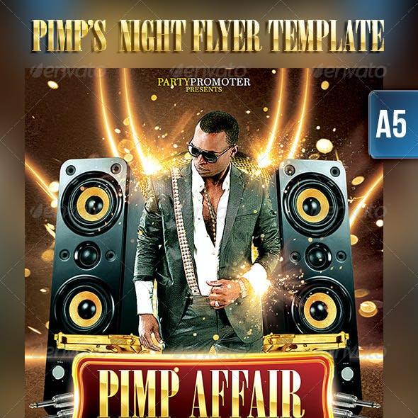 PIMP's Party Flyer Template