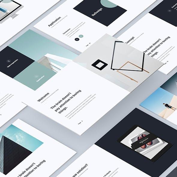 IVE - Minimal & Business Presentation Template (Google Slides)