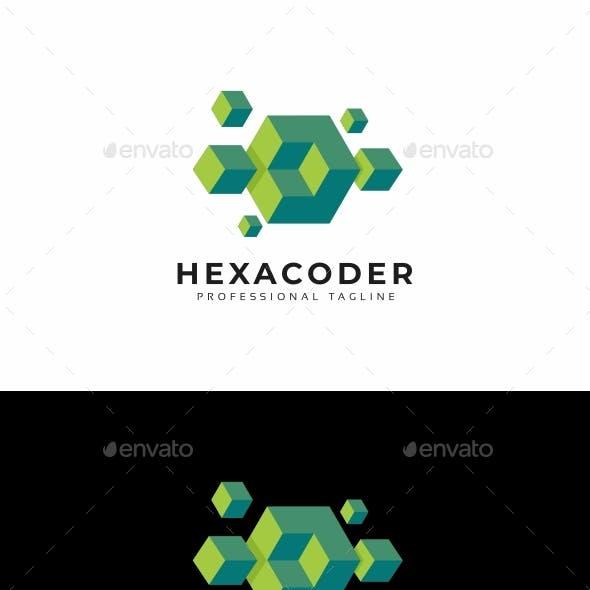 Hexagon Abstract 3D Logo