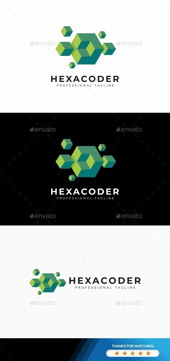 Hexagon Abstract 3D Logo - 3d Abstract