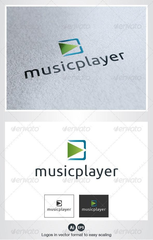 Music Player Logo - Symbols Logo Templates