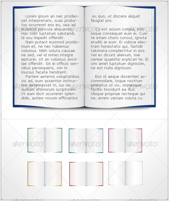 Book template - Man-made Objects Objects