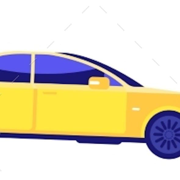 Car Knocks Down Person