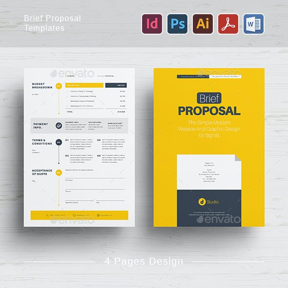 Brief Proposal Templates