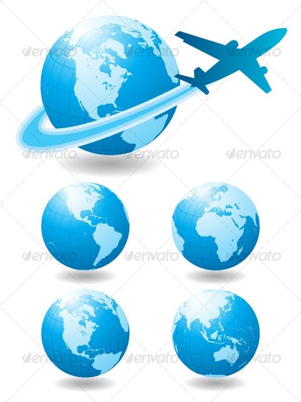 Airplane travel - Travel Conceptual