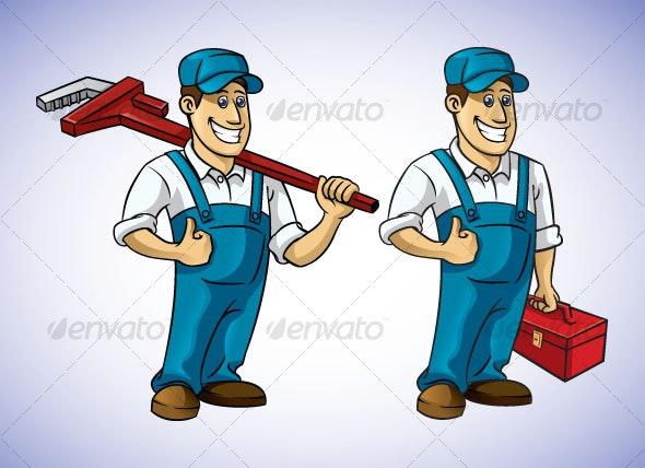 tool guy - People Characters