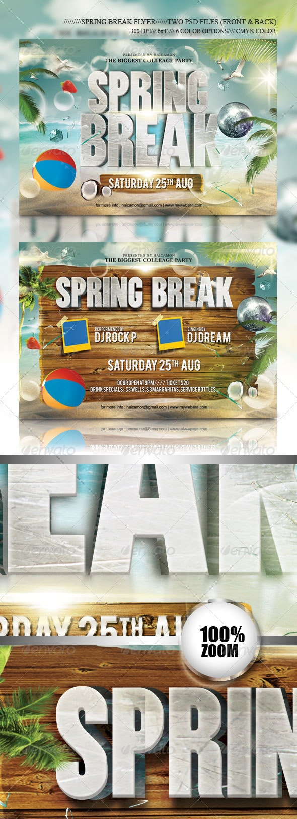 Summer Break Party Flyer Vol_12 - Holidays Events