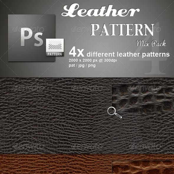Leather Pattern MIX