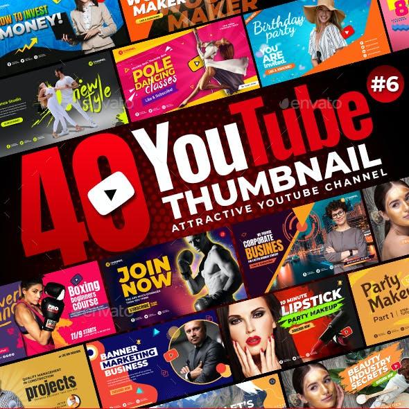 40-Youtube Thumbnail Templates