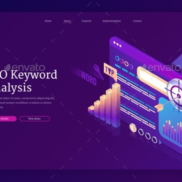 Vector Landing Page SEO Keyword Analysis
