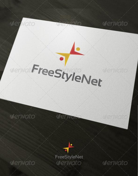 FreeStyleNet - Humans Logo Templates
