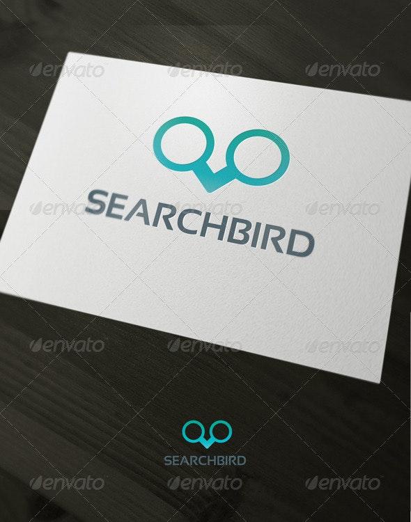 Search bird - Vector Abstract