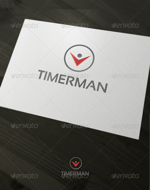 Time man - Vector Abstract