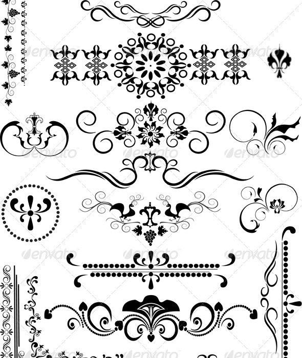 Decorative Border Ornament - Borders Decorative