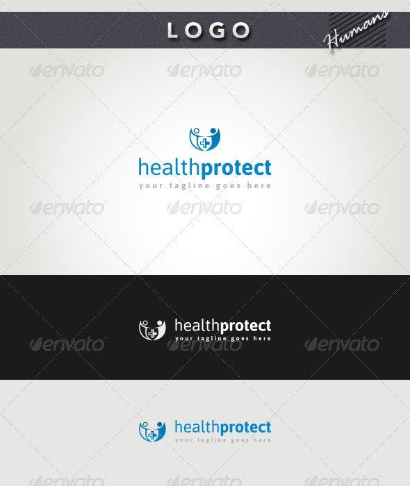 Health Protect Logo - Humans Logo Templates