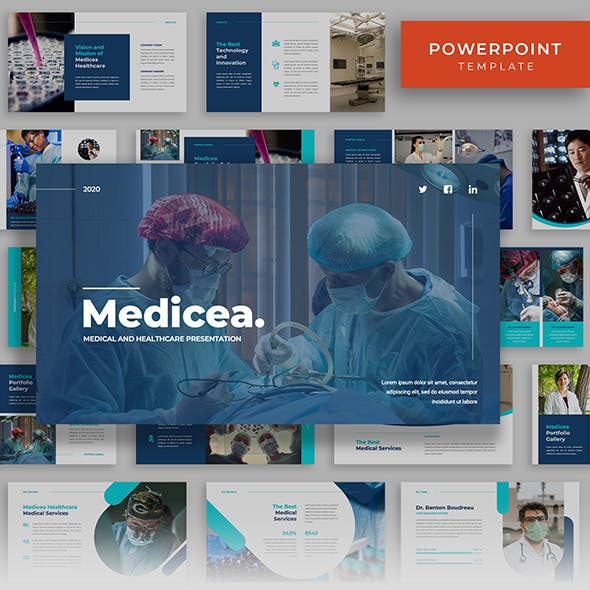 Medicea - Medical Powerpoint Template