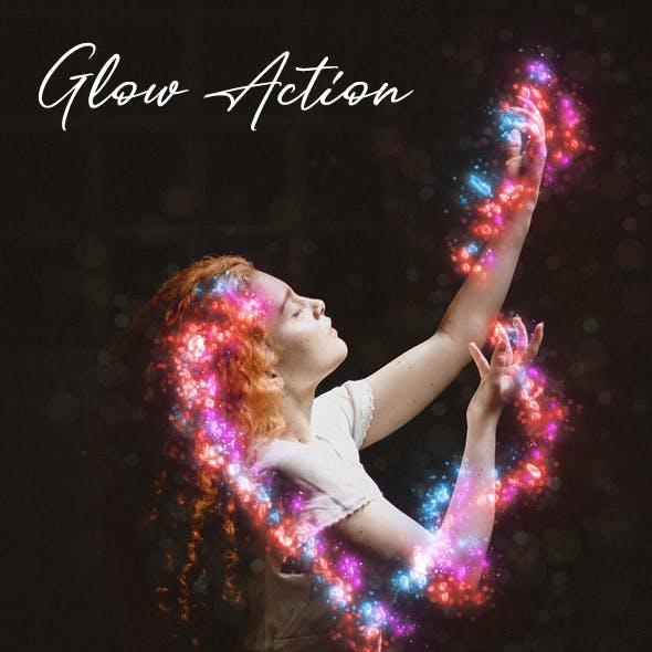 Glow Photoshop Action Vol 2