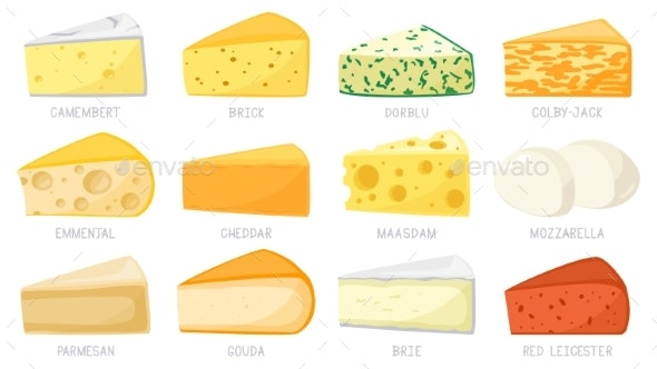 Of cheese types List of