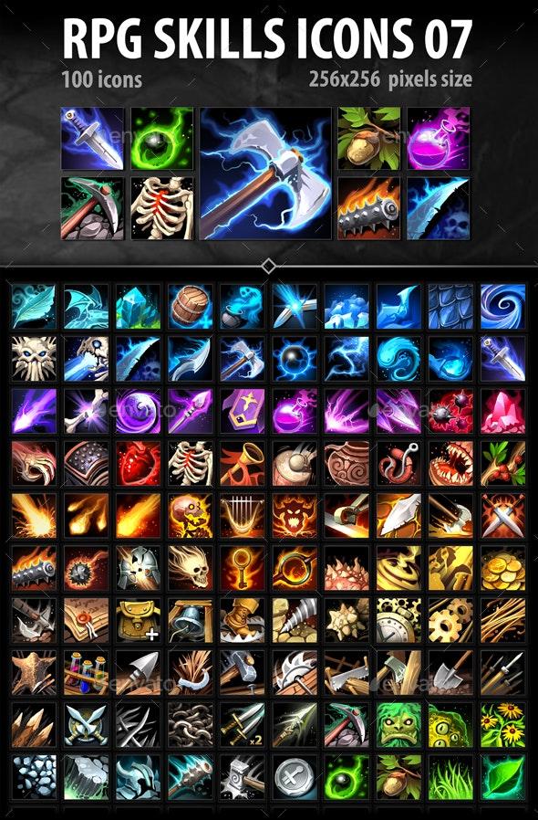 RPG Skills Icons 07