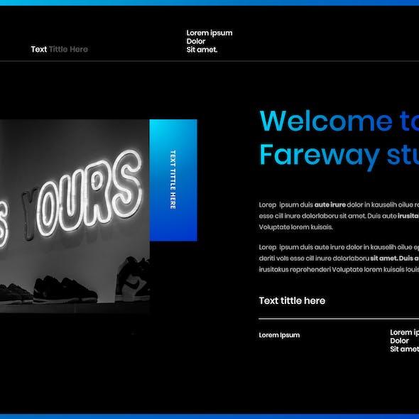 Fareway – Business Google Slides Template